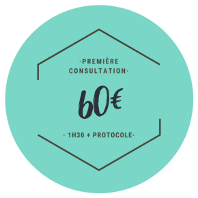 1ère consultation : 60 €